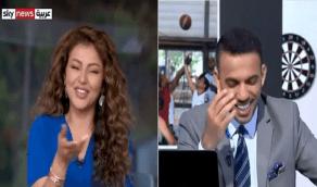 بالفيديو.. مها عبدالله وموسى البلوشي في ضحك هيستيري على الهواء مباشرةً