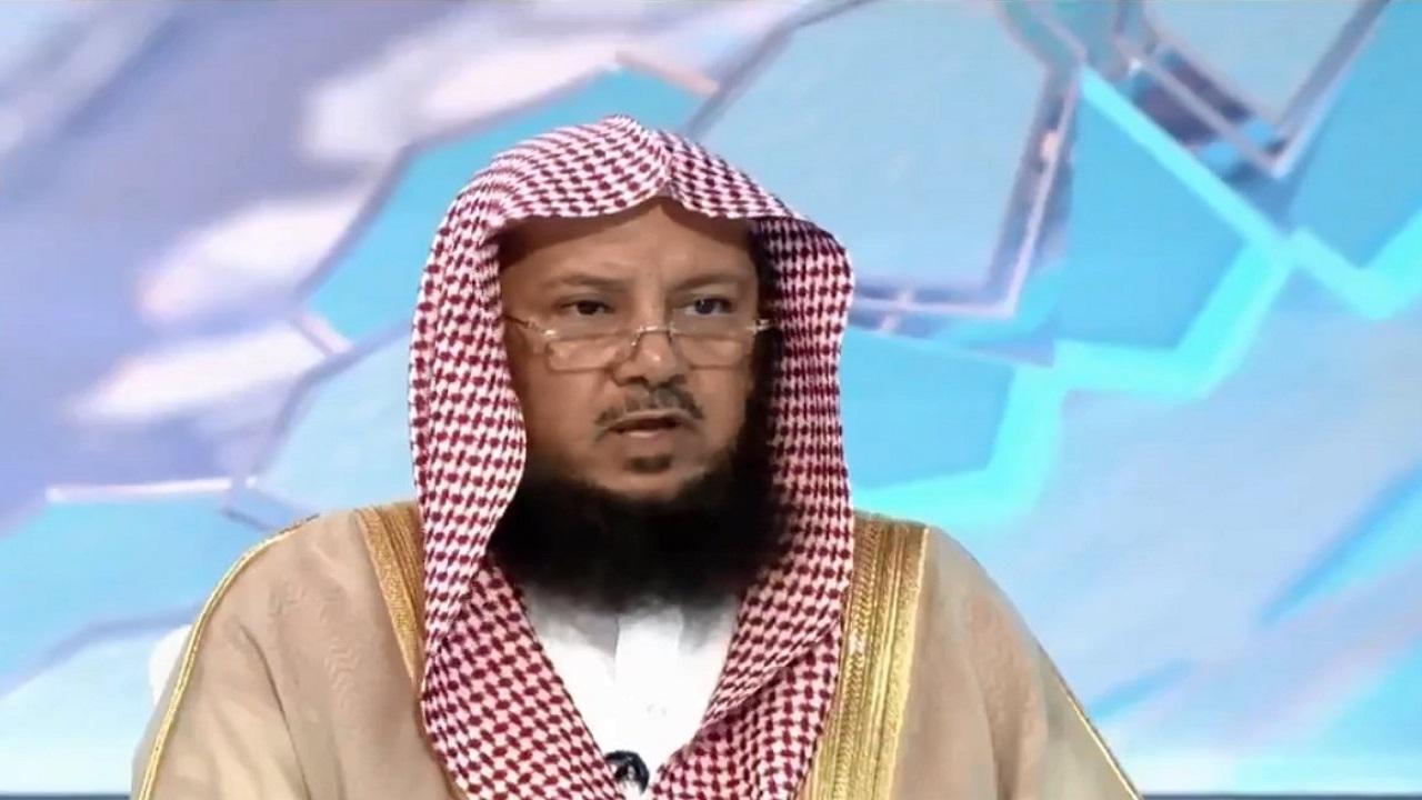"""بالفيديو.. السليمان يوضح حكم قول """"صدفة"""" أو """"من حسن الحظ"""""""