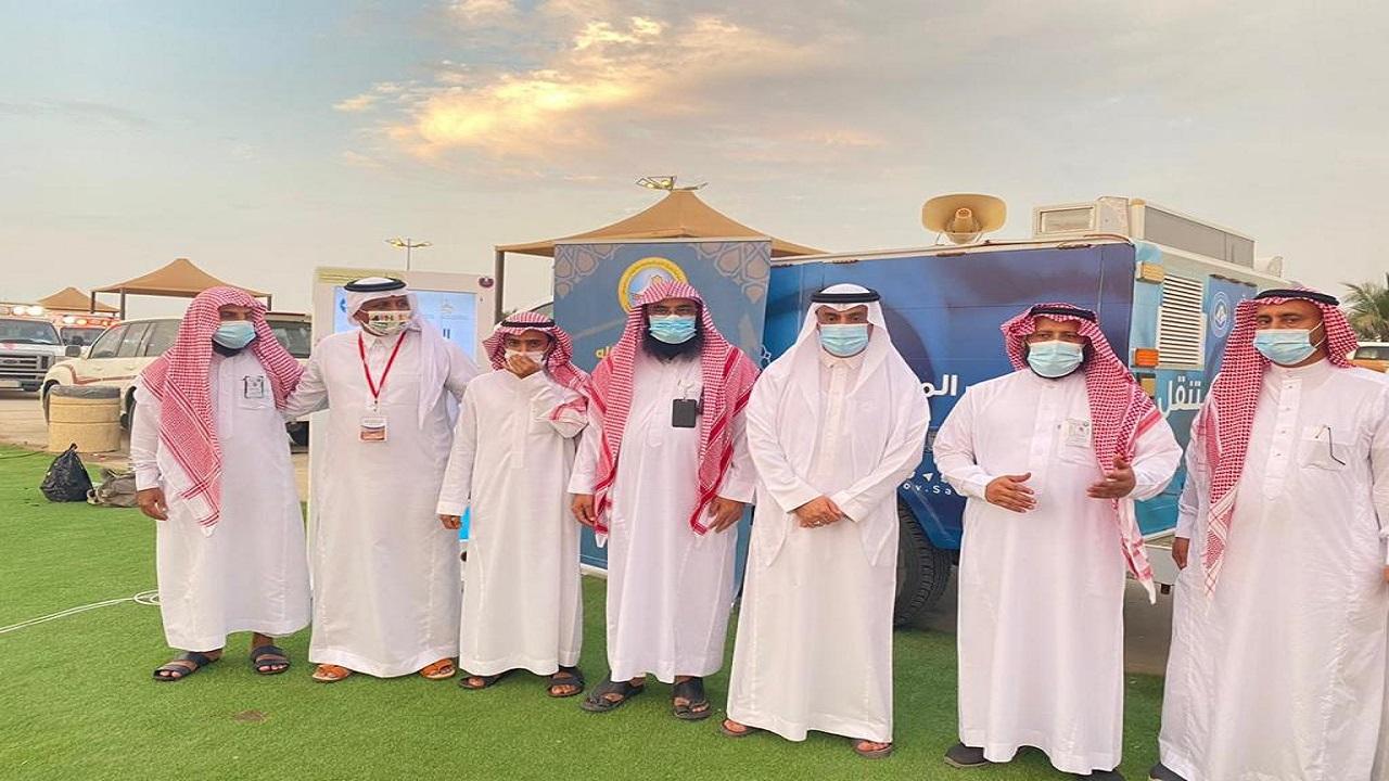 """هيئة الأمر بالمعروف بمحافظة الليث تفّعل برامج حملة """"الصلاة نور"""" في ملتقى المملكة الأول لاختراق الضاحية"""