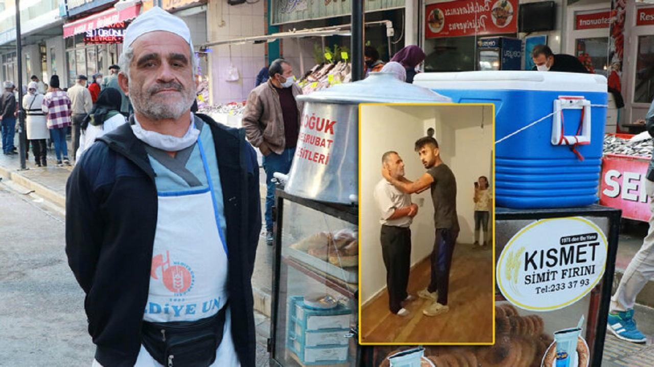 بالفيديو.. مُدمنين أتراك يعتدون بالضرب والركل على مُسن