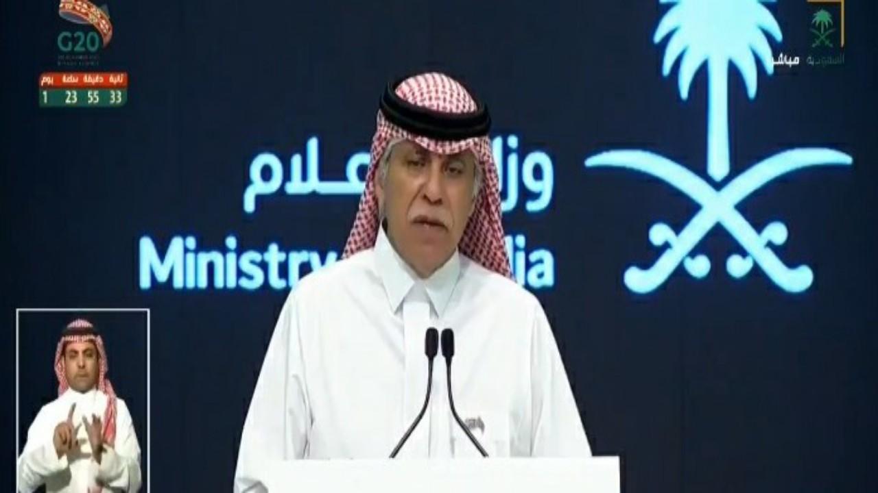 """وزير الإعلام: المملكة من أوائل الدول في الحصول على لقاح كورونا """"فيديو"""""""
