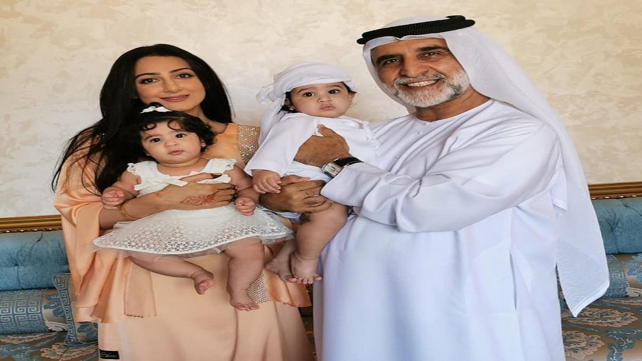 """زوج هيفاء حسين يرد على """" مي العيدان """" : """" ابني أجمل مني """""""