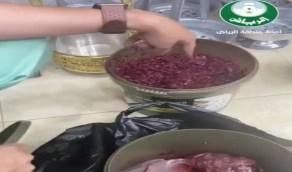 شاهد.. أمانة الرياض ترصد مخالفات في محلات بيع منتجات التبغ