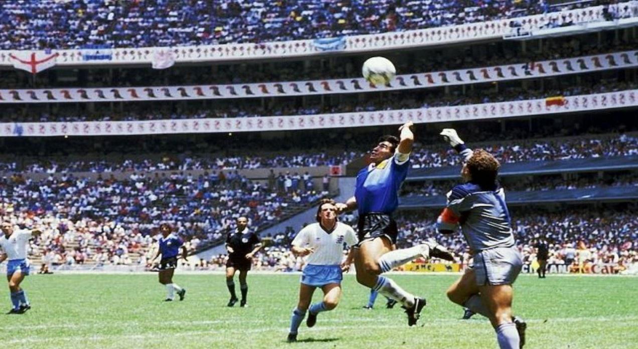 شاهد.. الهدف التاريخي لمارادونا في كأس العالم