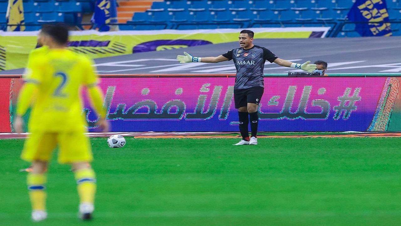 حبيب الوطيان أفضل لاعب في نهائي كأس الملك