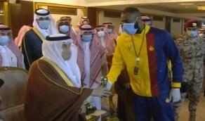 عبدالرزاق حمدلله يمتنع عن الصعود للمنصة