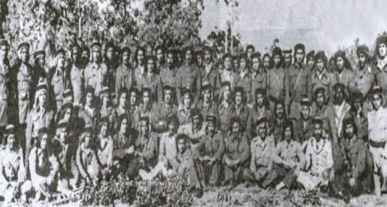 شاهد.. صورة تاريخية للضباط السعوديين المشاركين في حرب فلسطين