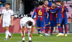برشلونة يكتسح أوساسونا برباعية