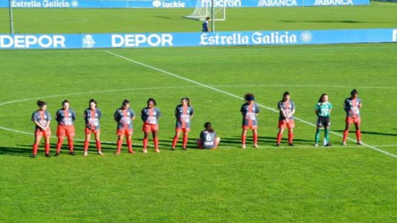 لاعبة ترفض الوقوف دقيقة صمت لوفاة مارادونا