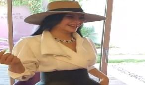 بالفيديو..لجين عمران ترتدي عُقدًا يتخطى ثمنه المليون دولار