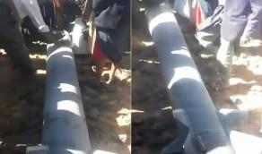 بالفيديو.. سقوط صاروخ حوثي على قرى صنعاء بعد فشل إطلاقه