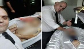 مقتل مغسل موتى لالتقاطه سيلفي مع جثمان مارادونا