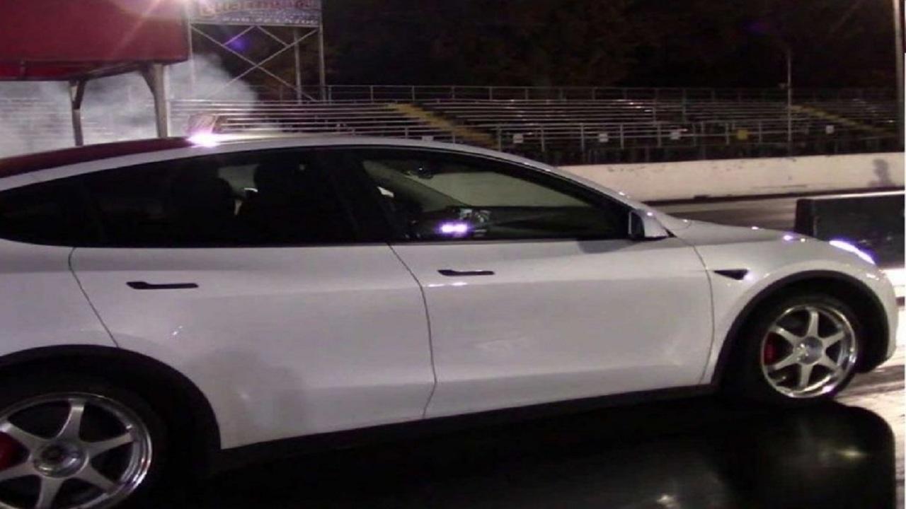 بالفيديو.. تيسلا Y الأبطأ تثير الإعجاب في السباقات