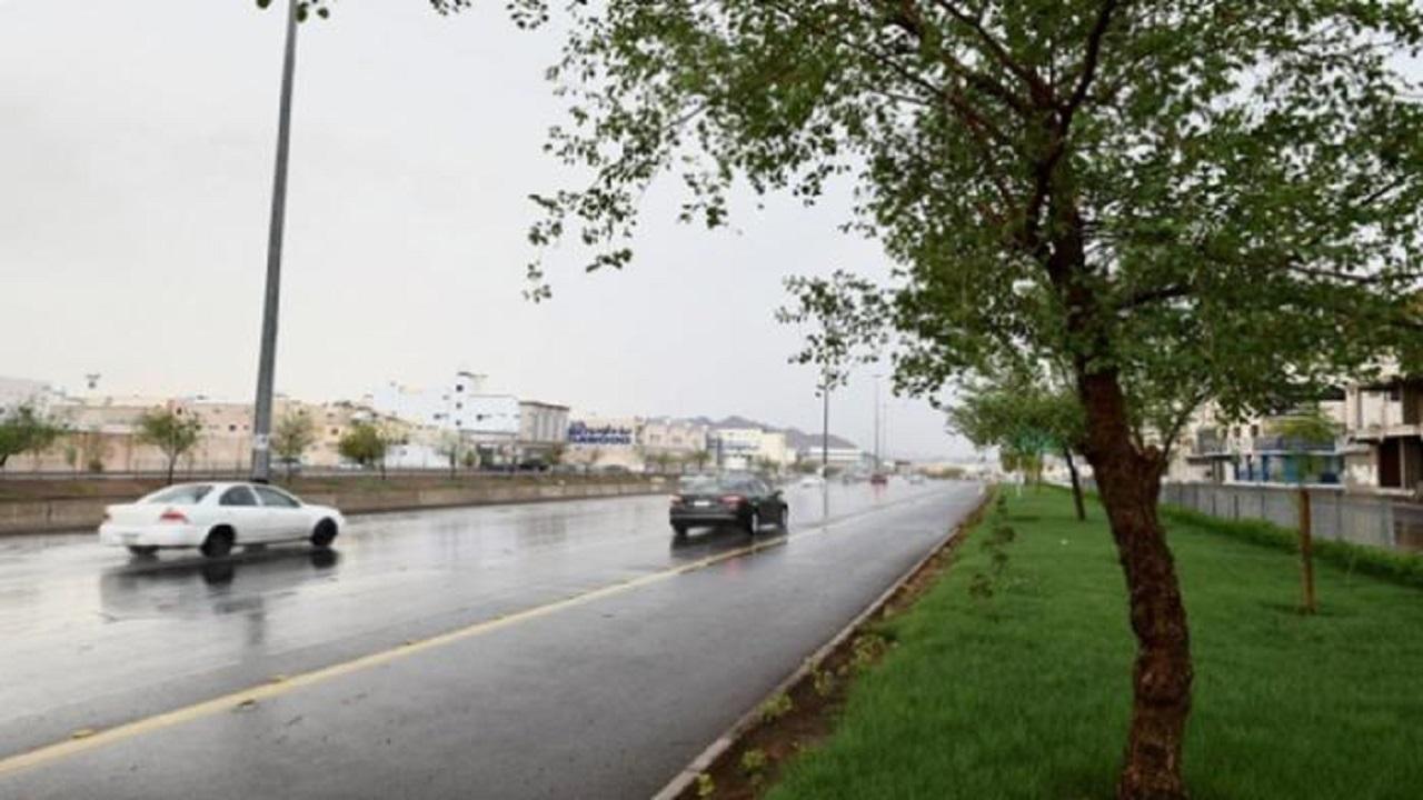 """""""الأرصاد"""" تنبه بأمطار مصحوبة برياح وسيول على المدينة المنورة"""