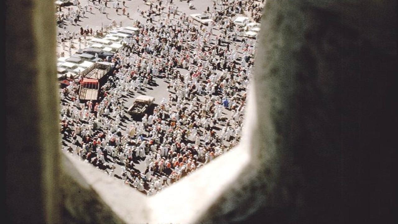 صورة نادرة للعاصمة المقدسة أثناء موسم الحج