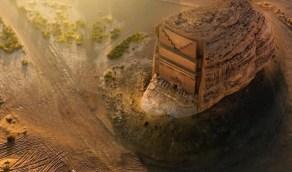 القصر الفريد.. صخرة عملاقة تتحول لتحفة معمارية في العلا