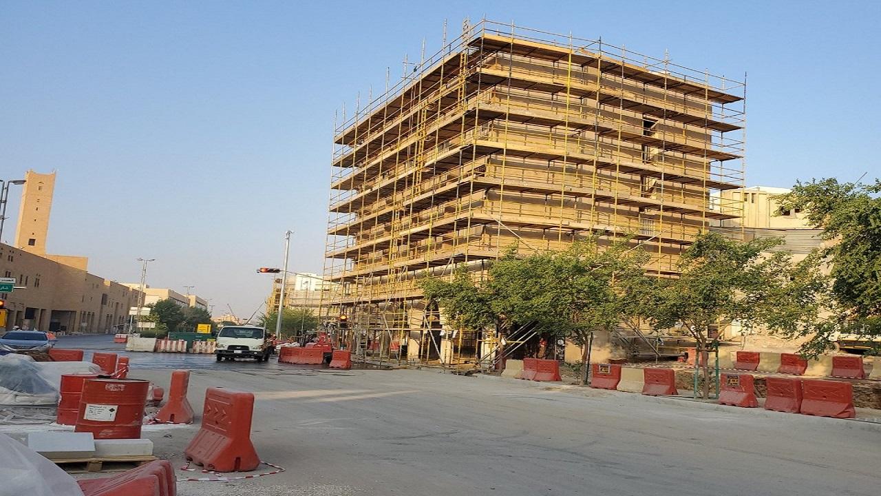 بالفيديو.. آخر تطورات مشروع تحسين واجهات المباني في منطقة قصر الحكم بالرياض