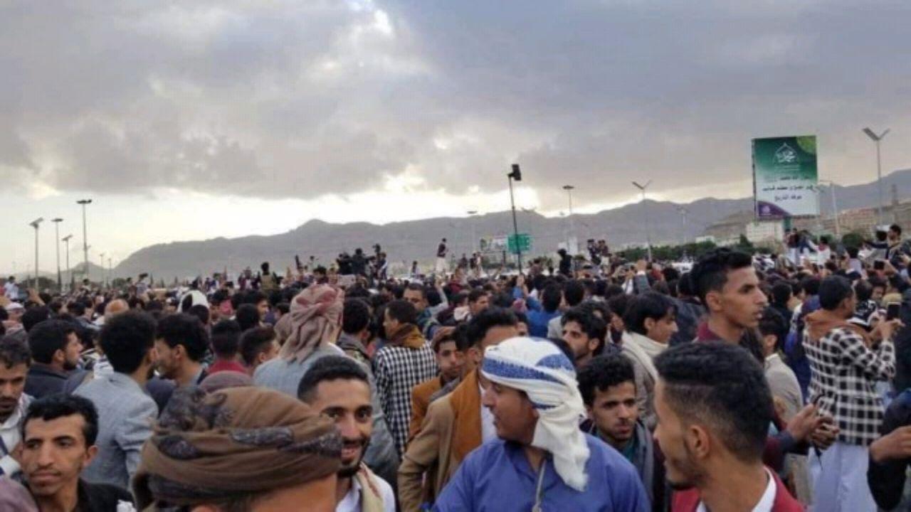 بالفيديو.. ميليشيا الحوثي تختطف مشهور يمني خلال حفل زفافه
