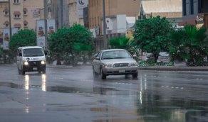 """""""الزعاق"""" يتوقع هطول أمطار على 8 مناطق"""