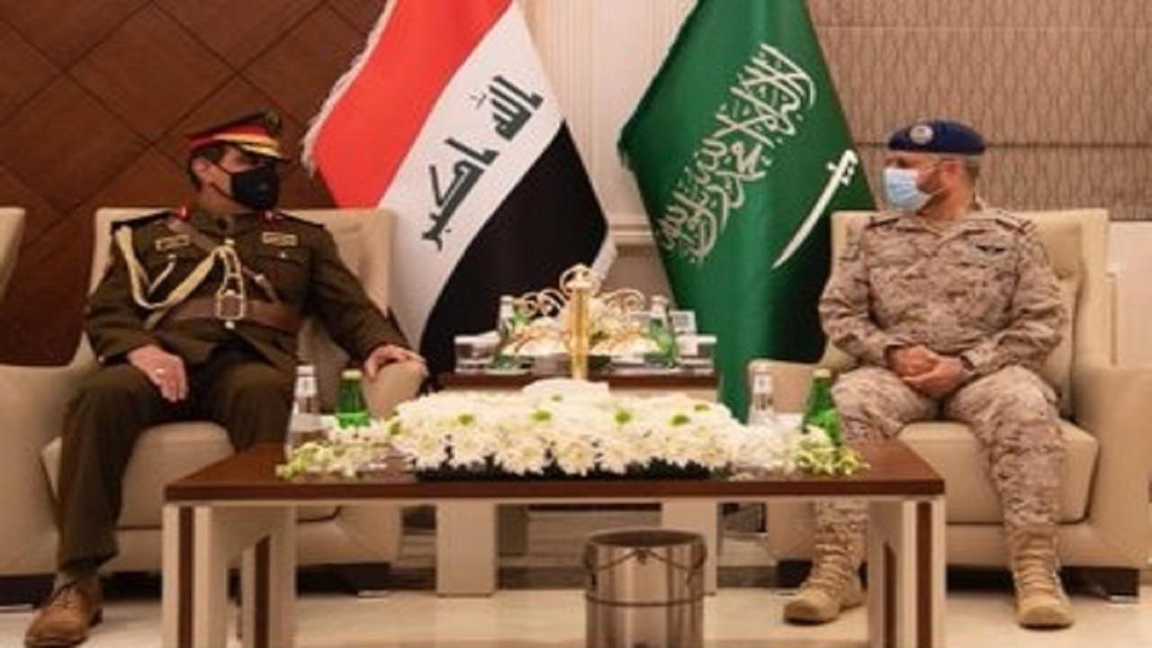 رئيس هيئة الأركان العامة يستقبل رئيس أركان الجيش العراقي