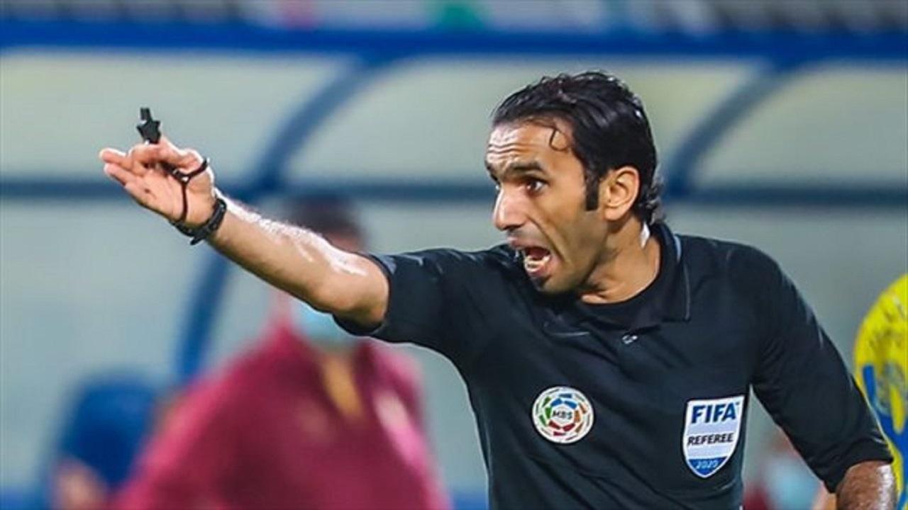 «لجنة الحكام» تبرئ الحنفوش من أخطاء مباراة النصر والشباب