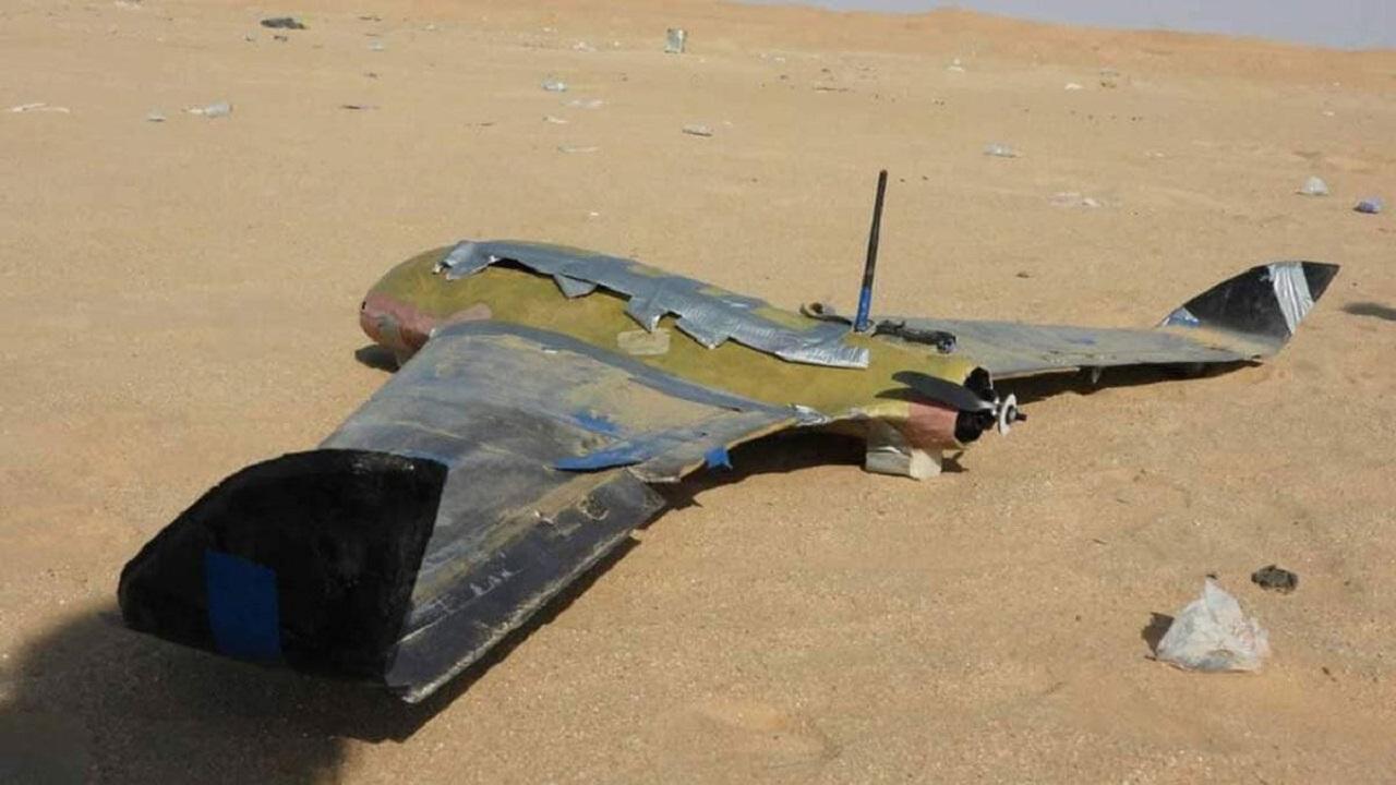 الجيش اليمني يسقط طائرة حوثية بمديرية باقم
