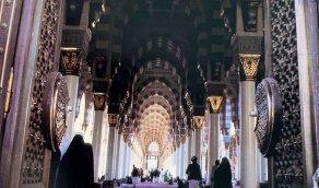 منظر جميل من المسجد النبوي الشريف قبل حوالي 35 عام