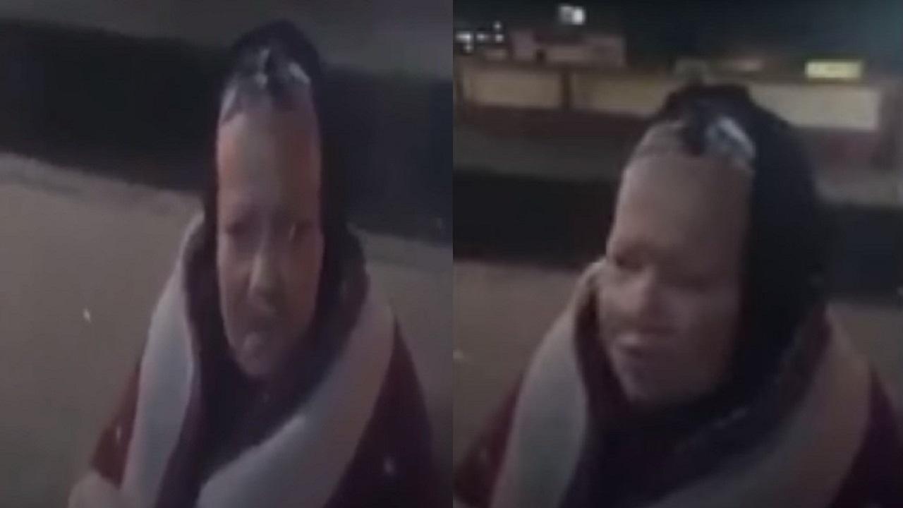 بالفيديو.. مُسنة تنام في الشارع بعدما طردها ابنها إرضاءا لزوجته