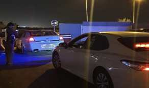 بالصور.. ضبط قائد مركبة قاد بسرعة عالية في أحد شوارع الطائف