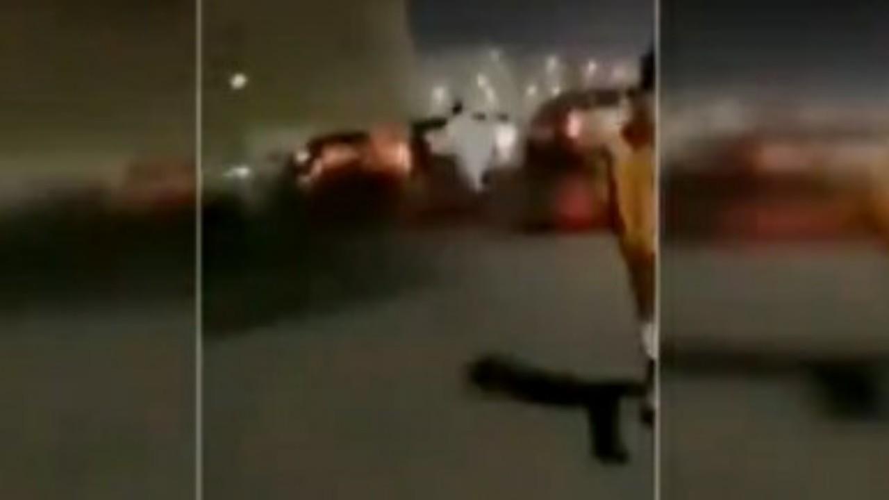 """سر إصرار الفتاة التي احترقت سيارتها بالخبر على إحضار حقيبتها من الداخل """" فيديو """""""