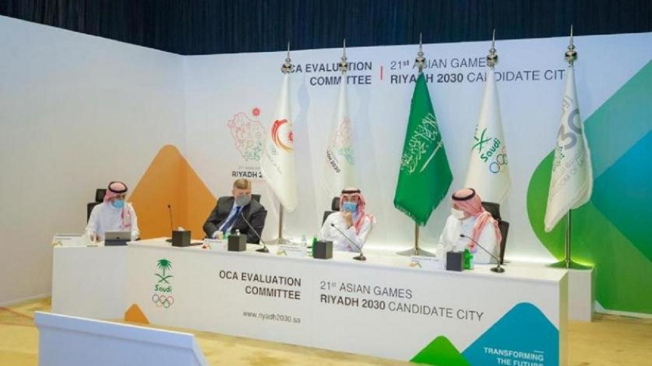 الرياض تستضيف دورة الألعاب الآسيوية 2030