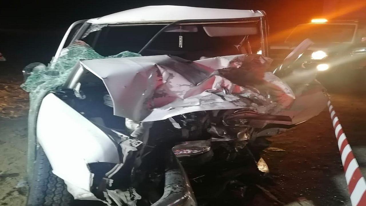 حادث تصادم أدى الى عدد من الإصابات ووفاه بعسير