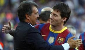 خوان لابورتا: أمتلك مفتاح إقناع ميسي بالبقاء مع برشلونة
