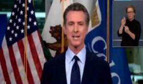 بالفيديو.. حاكم كاليفورنيا يدعو للإستعانة بإستراتيجية المملكة ضد كورونا