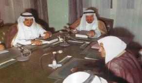 """صور نادرة تجمع بين الملك """"خالد"""" والملك """"فهد"""" قبل 45 عاما"""