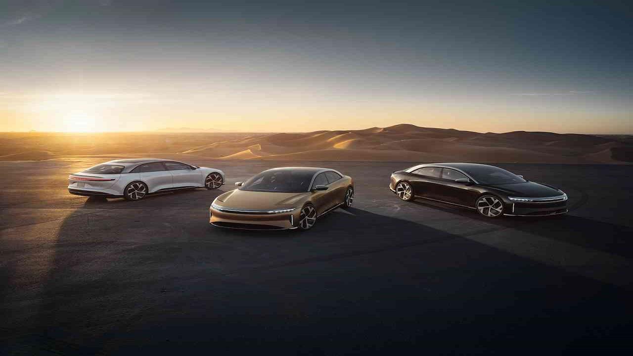 منح لوسيد اير 2022 محركين كهربائيين بشكل اختياري