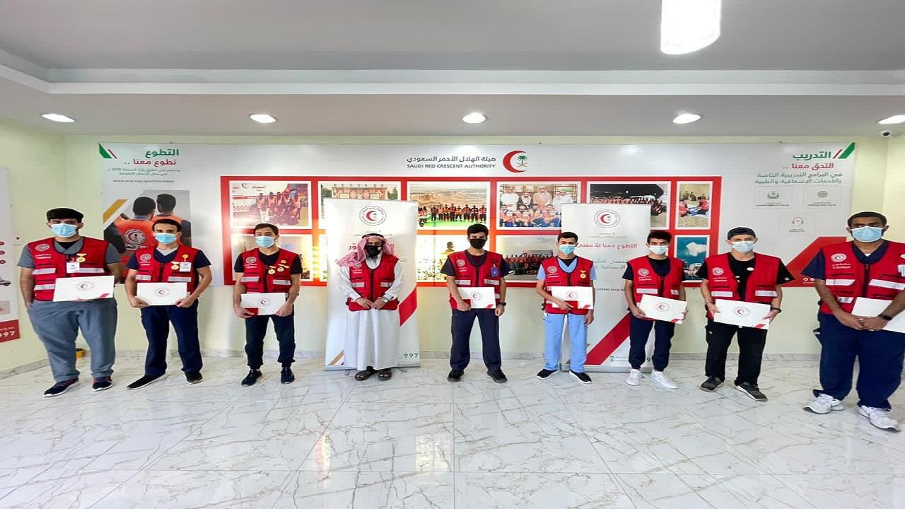 « الهلال الأحمر بالباحة» يحتفي باليوم العالمي للتطوع