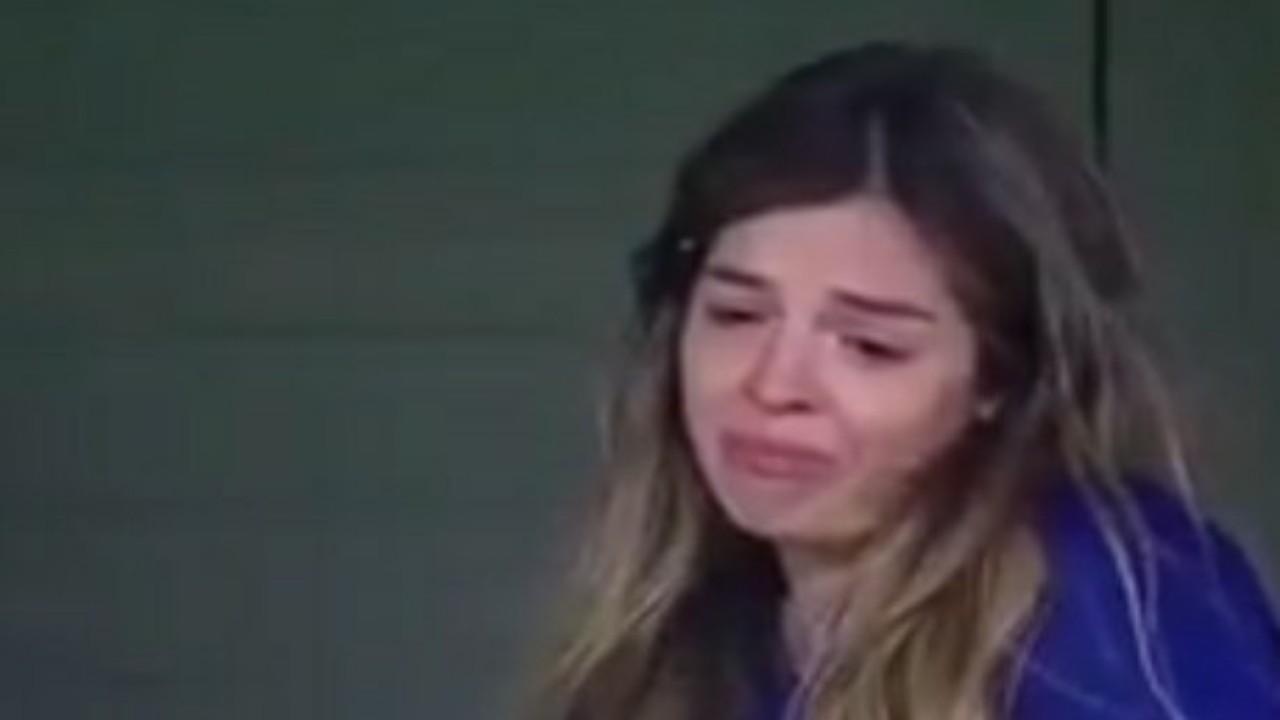 شاهد.. ابنة مارادونا تجهش بالبكاء أثناء مباراة بوكا جونيورز