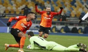 شاختار دونيتسك يقهر ريال مدريد بثنائية في دوري الأبطال