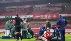 مدرب آرسنال يطالب ببديل مؤقت للاعبين المصابين بارتجاج في الملعب
