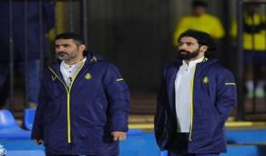 بالصور.. حسين عبدالغني يبدأ مهام عمله في النصر