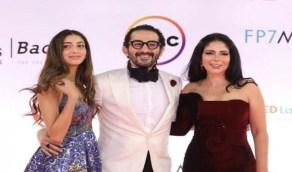 ابنة أحمد حلمي ومنى زكي تخطف الأنظار في أول ظهور لها بمهرجان سينمائي