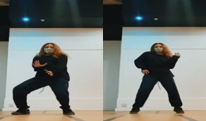 رقصة جريئة لابنة عمرو دياب تثير الجدل