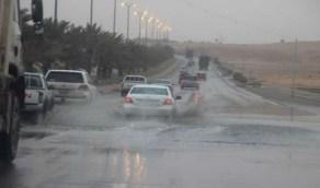 """""""المسند"""": استمرار هطول الأمطار  لأجزاء متفرقة بالمملكة"""