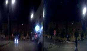 بالفيديو .. سائق مستهتر يقود عكس المسار في إحدى الطرق بالمملكة