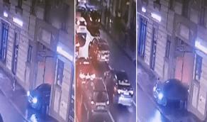 بالفيديو.. مشهد صادم لسيارة تسحب طفلة تحت عجلاتها