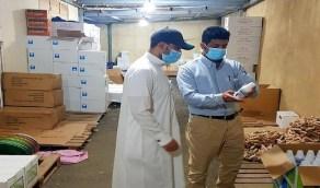 بالصور.. إغلاق مستودع بيطري بعد رصد مخالفات في جدة