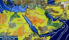 المسند: غبار في المناطق المفتوحة بالمدينة المنورة