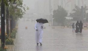 الحصيني: أمطار متفاوتة على 11 منطقة