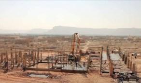 بالفيديو.. بدء تنفيذ أكبر مدرسة في سيئون باليمن بتمويل المملكة